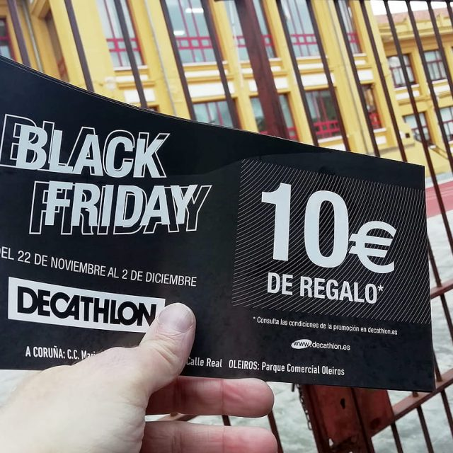 DESCUENTO BLACK FRIDAY DECATHLON